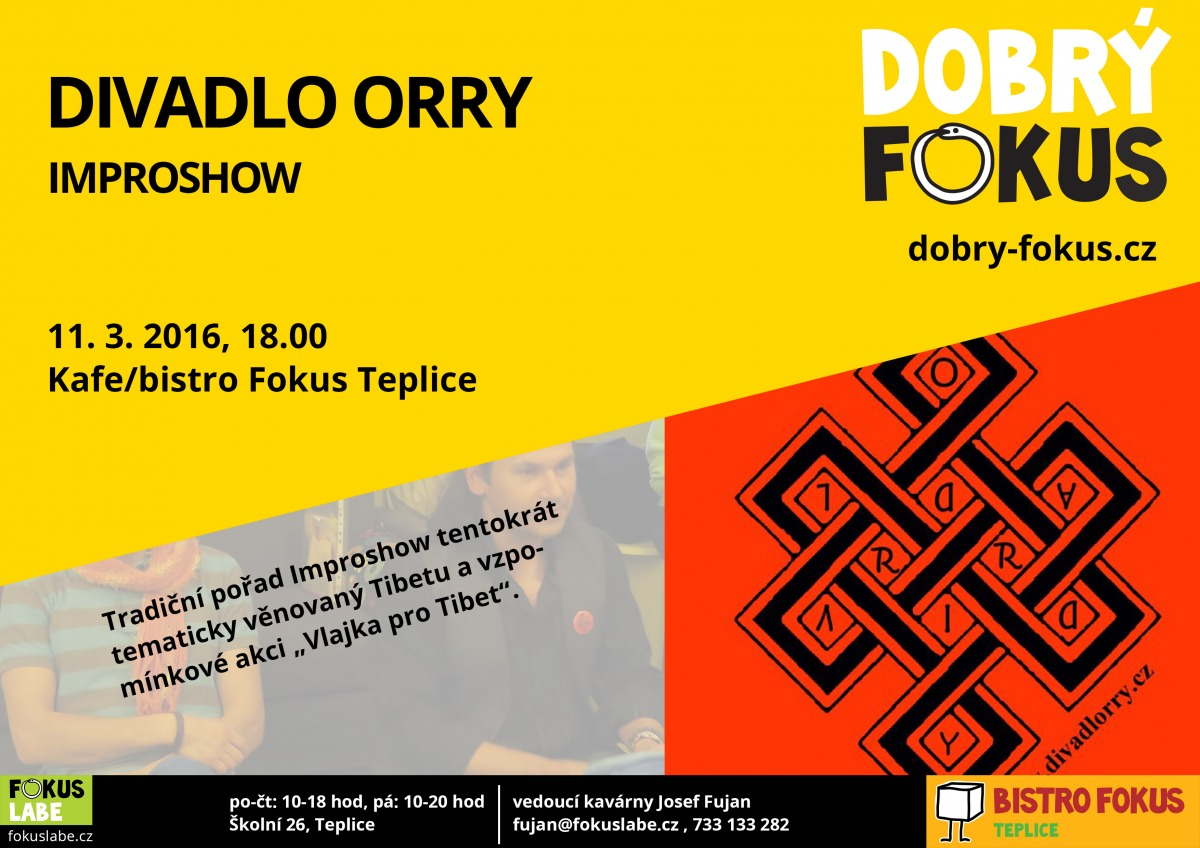 Divadlo Orry - 11.3.2016 18:00