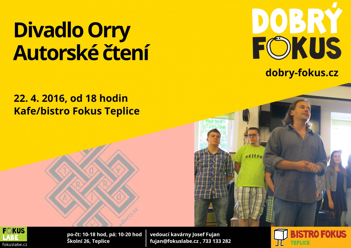 Divadlo Orry - 22.4.2016 18:00
