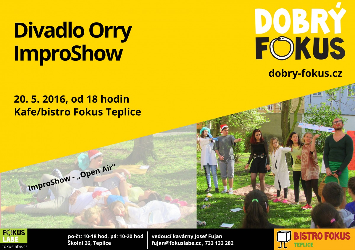 Divadlo Orry - 20.5.2016 18:00